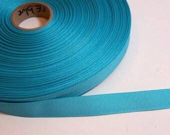 Blue Ribbon, Robin's Egg Blue Grosgrain Ribbon 5/8 inch wide x 10 yards