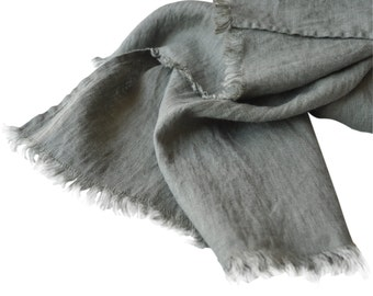 Linen scarf unisex spring summer winter autumn fashion