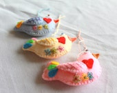 Felt Easter Hanging Ornament Spinrg Bird Plush Ornament