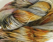 Ready to Ship Hand Dyed Yarn - Metal Mind - Smooth Move
