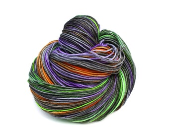 Ghost Walk--SOCKtober PREORDER--hand dyed sock yarn, merino and nylon, (463yds/100gm)