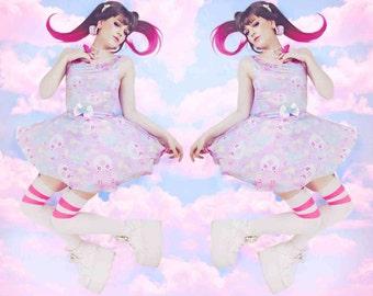 Sweetie Dreams, Donut Unicorn Dress, Trixie the alien Donut bear Dress