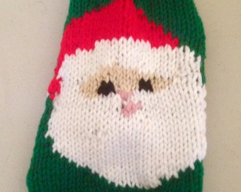 XS- Santa Claus- Dog Sweater- Chihuahua Clothes- Yorkie- Maltese -Christmas Sweater-