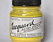 Jacquard acid dye 1/2 ounce YELLOW SUN 601