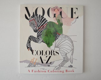 Vogue Colors A to Z - A Fashion Coloring Book