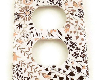 Outlet Switch Plate Light Switch Cover  Switchplate in Charm (105O)