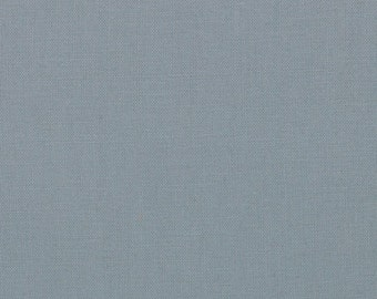 Steel (9900 184) - Bella Solids fabric Moda Basics