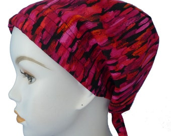 English Traditions Chemo Scarves Elegant Cheerful & Colorful Cancer Hair Loss Scarf Turban Hat