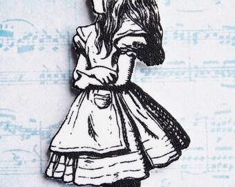 Alice in Wonderland #4 Shrink Plastic Necklace