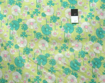 Amy Butler Glow Voile VOAB019 Wild Flower Zest Fabric By The Yard