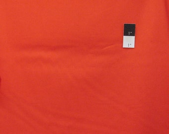 Free Spirit Designer Solids VOVS017 VOILE Tangerine Cotton Fabric 1 Yd