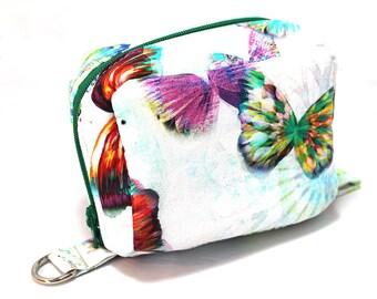 Essential Oil Case Holds 6 Bottles Essential Oil Bag Crystalia Digital Print Butterfly Opal