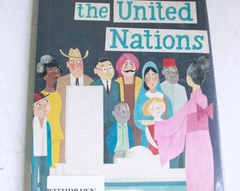 Vintage This is the United Nations by M. Sasek 1968