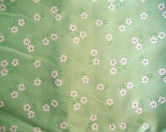 RESERVED for Julie-Pls do not purchase- 2 Pieces of Vintage Flocked Floral Fabric