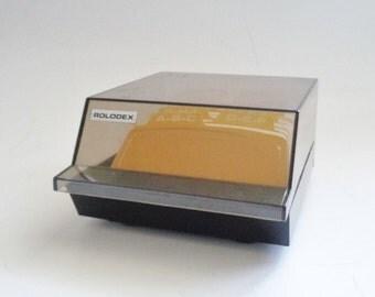 Vintage  Rolodex Business Card File