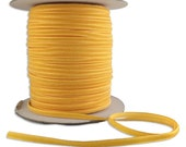2 Yards Tiny Velvet Ribbon Trim Golden Yellow 1/8 Inch Wide 3.175mm Wide VR125-GY