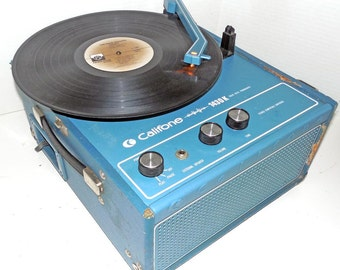 Califone 1430K 4 speed Record Player refurbished with warranty