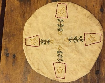 Tree Candle Mat Pattern