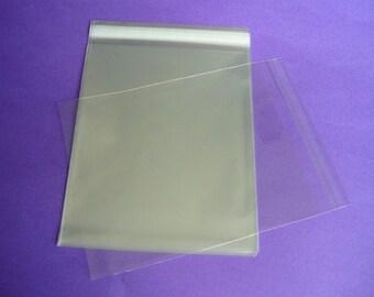 500 10 x 13 Clear Resealable Cello Bag Plastic Envelopes Cellophane Bag
