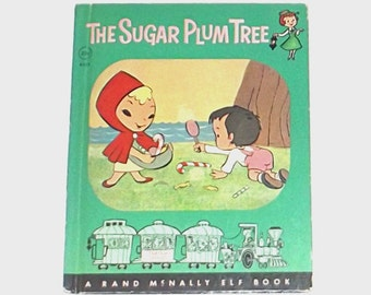 1960s children's book / 60s illustrated book / The Sugar Plum Tree Storybook