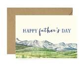 Mountain Dad Card