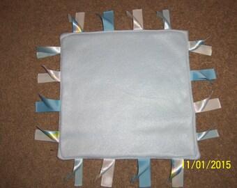 Homemade Baby Blue, Ribbon Blanket
