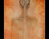 Ventricular Brain - 11 x 14 paper print