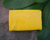 Carrot Basil Soap- facial toner/anti-aging soap/anti-wrinkle soap/face soap/natural soap/handmade soap/homemade soap/artisan soap/vegan soap