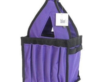 Crafter's Tote-Purple canvas-Sturdy-lots of compartments!