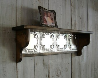 Country Wall Mounted Picture Shelf