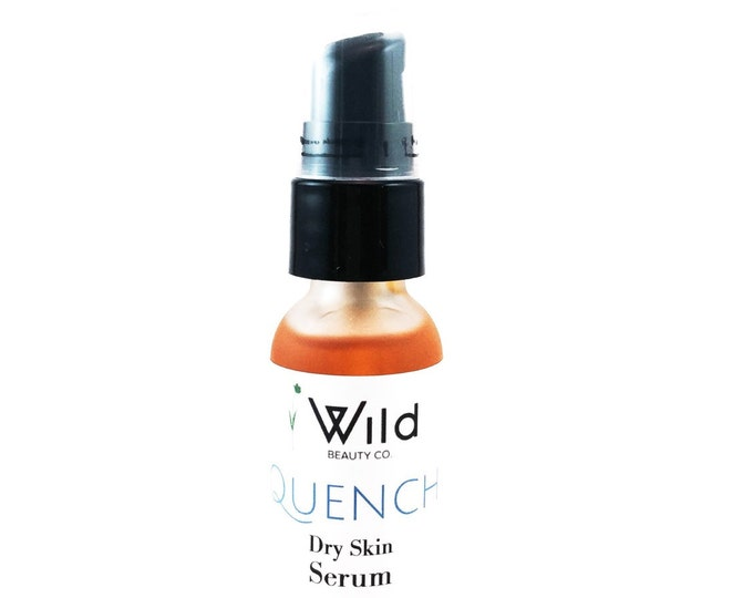 QUENCH Dry Skin Face Serum/ Natural/ Vegan