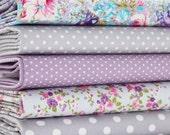 Fabric Bundle Lavendar Fields Bundle fat Eighths tissu