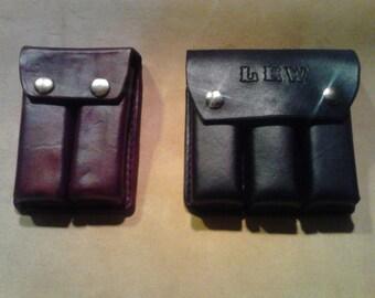 Harmonica Case  Harp Case  Handmade Genuine Leather