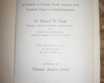 1949 Audubon Bird Guide: Eastern Land Birds-Hardcover