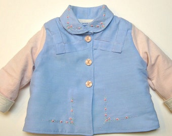 Size 1 Baby Girl Embroidered Jacket