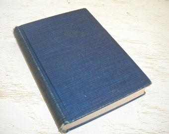 American Patriotic Prose by Augustus White Long 1917 - with notes and biographies - navy blue antique book - historical read