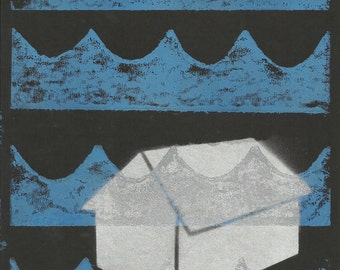 Cottage Printmaking with Stencil Art