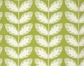 Heather Bailey Fabric by the Yard - Clementine - Sprout in Olive - Quilter's Cotton