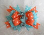 Dog Bows- Sparkling Sea Horse Boutique Dog Bow