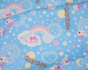 Baby Hoppe Print 50 cm by 106 cm or 19.6 by 42 inches Half Meter nc11