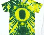 Tie Dye Shirt, Oregon Ducks T-Shirt, Adult Small
