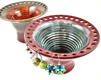 Earring holder, Jewelry Bowl, Jewelry holder - In stock PRK011
