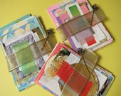 Soft Pa - scrapbooking / collage kit (1 set of assemblage supplies)