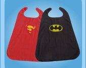 Superman Batman Reversible Superhero Cape Costume
