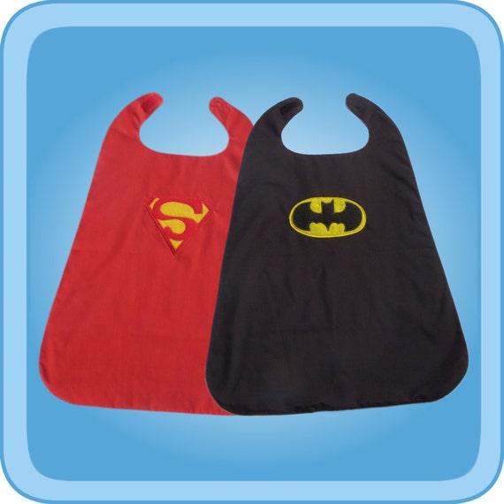 Superman Batman Reversible Superhero Cape Costume