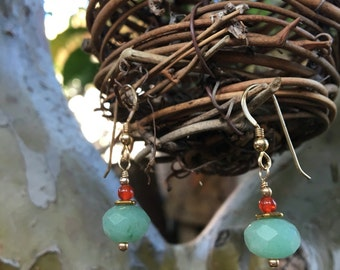 Little Sweet Aventurine Earrings