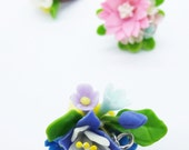 Miniature Polymer Clay Supplies for Flowers Beaded Jewelry Charm, 1 piece