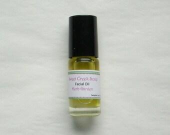 Herb Garden Facial Moisturizer, 1/8 oz glass roll on