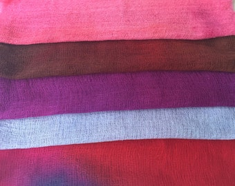 Hand Dyed Cheesecloth Sampler Pack 115
