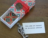 Knight in Shining Armor Message Box